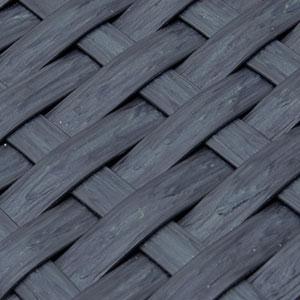 Résine noir texturé